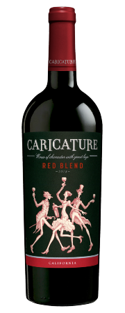 2018 Caricature Red Blend