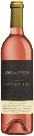 2018 Aglianico Rosé | River Ranch Vineyard